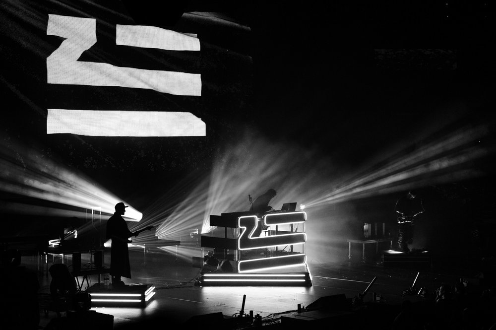 Zhu at Bumbershoot Music Festival in Key Arena Seattle Center Washington 2016