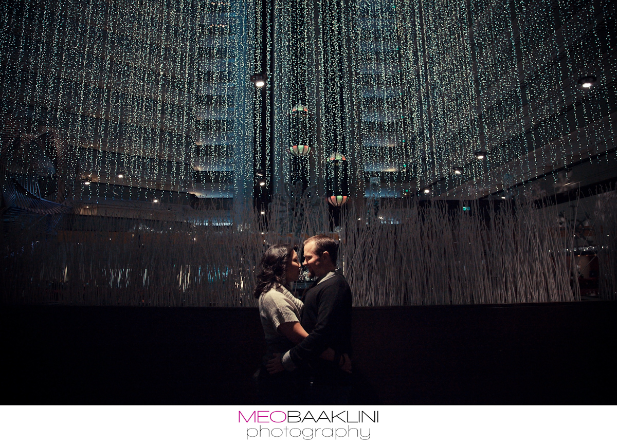 San Francisco Hyatt Regency Engagement Photography