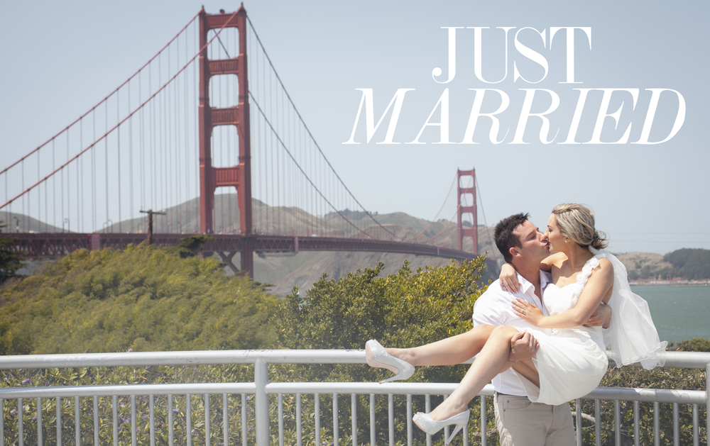 Golden Gate Bridge Wedding Engagement Photographer