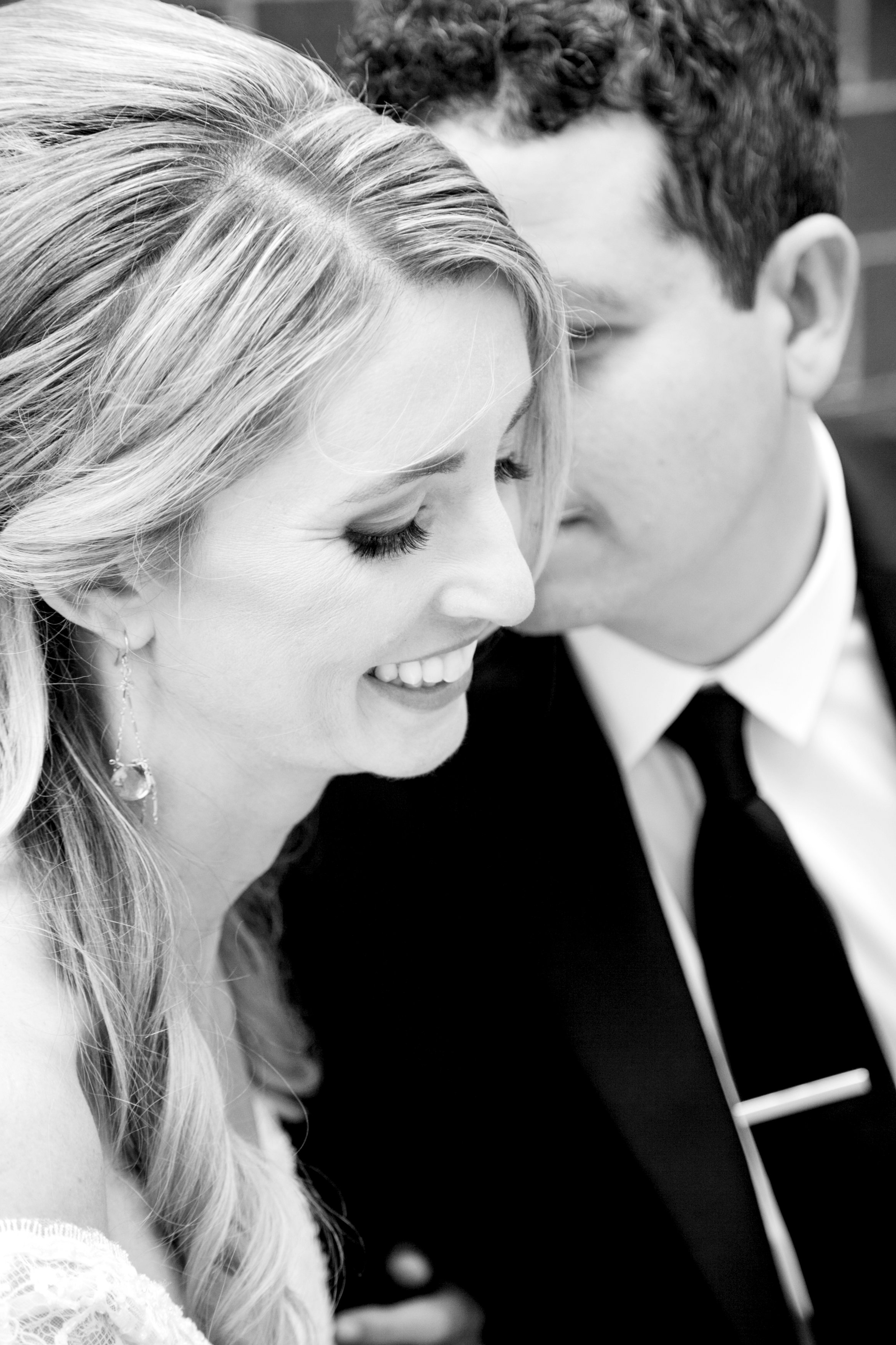 Black and White Bride and Groom Classic Wedding