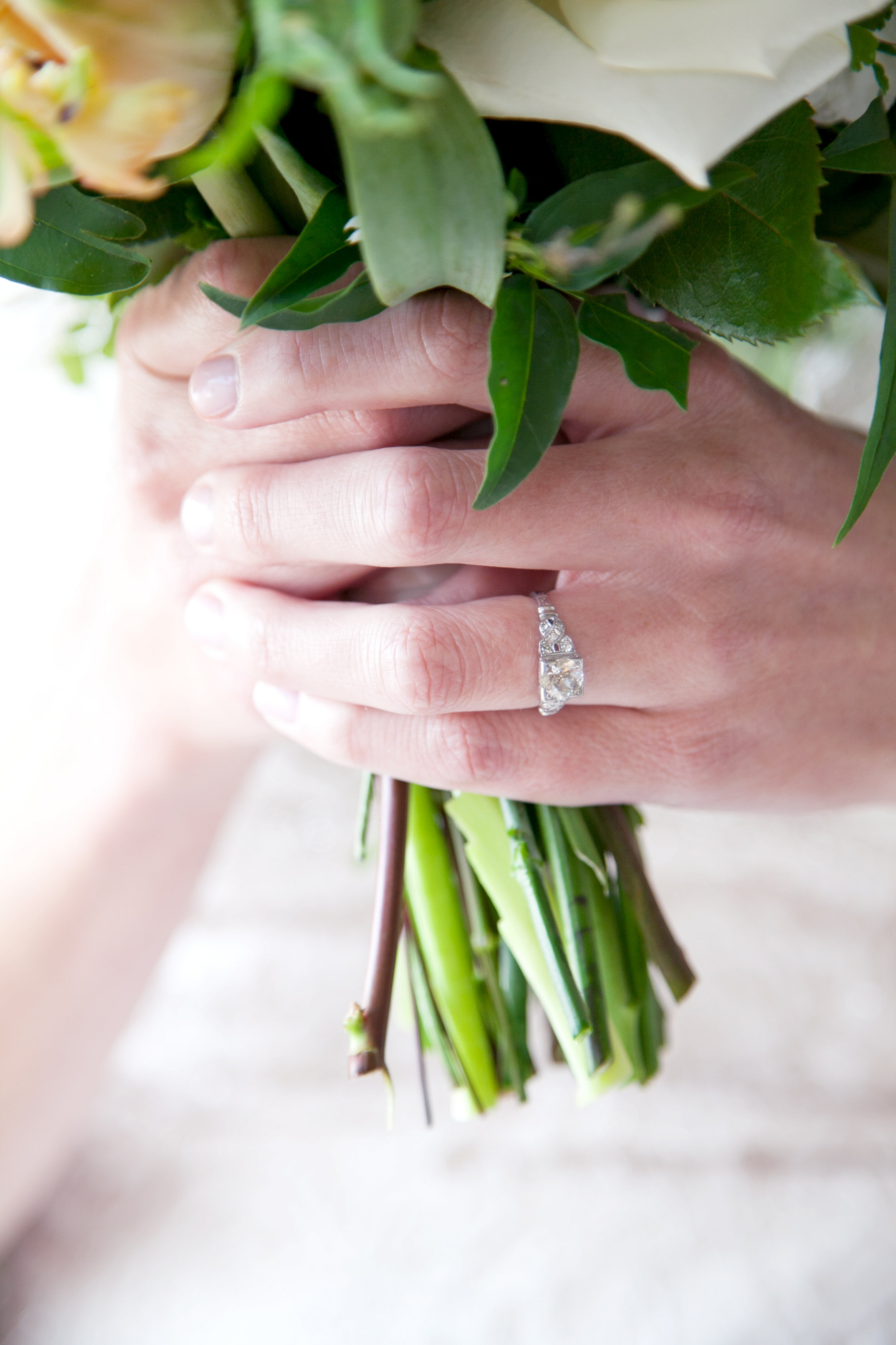 Wedding Ring, Bouquet, San Francisco Wedding Photographer Meo Baaklini