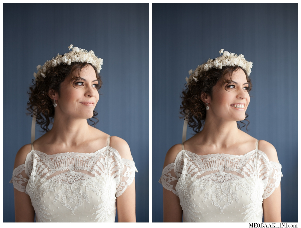 BHLDN, Floral Crown, Bridal Hair and Makeup