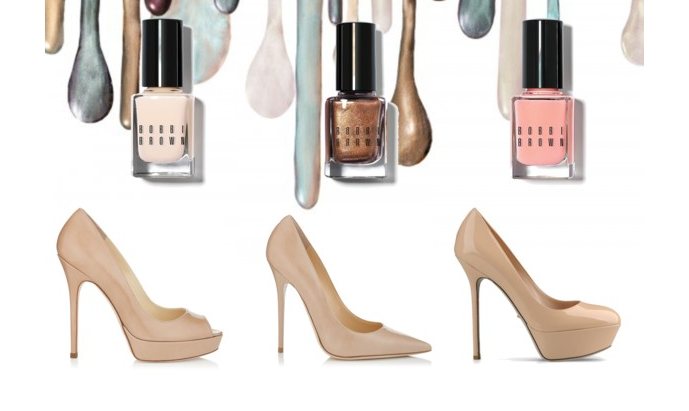 Nude Nude Nude! Shoes