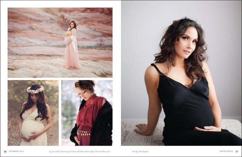 Denim + Grace 2014 Posebook  Maternity Meo Baaklini