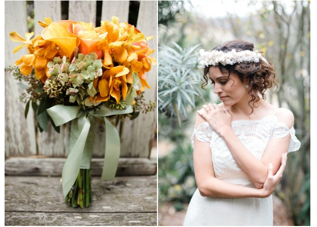 Half Moon Bay Garden Wedding Elopement