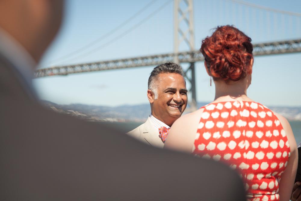 Pier 14 Wedding Photos