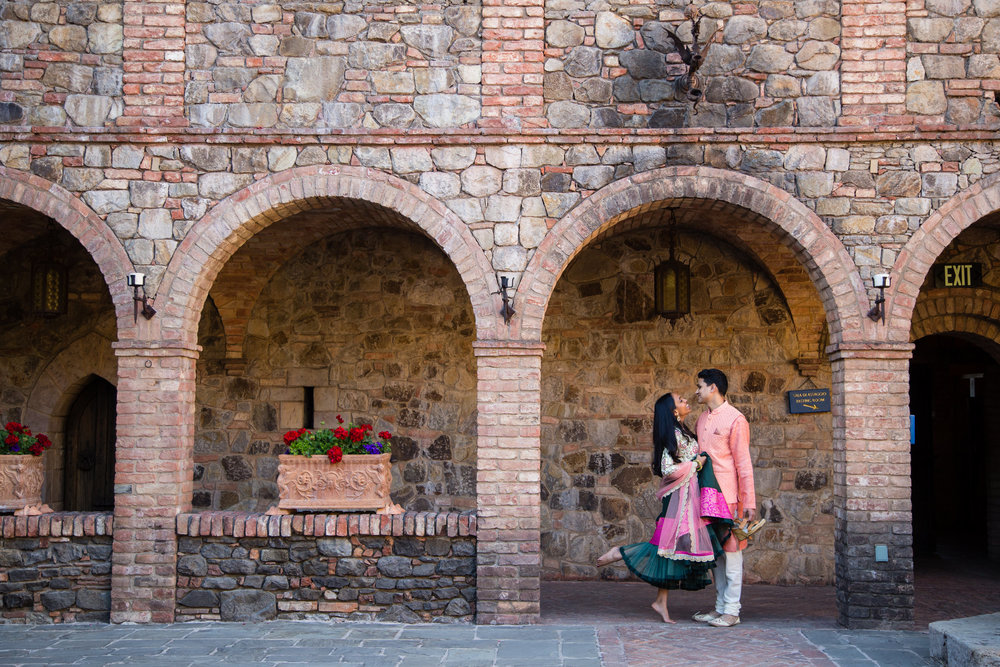Castello di Amorosa Engagement Session..