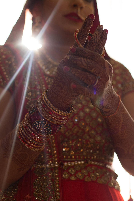 Bridal mehndi + bangles