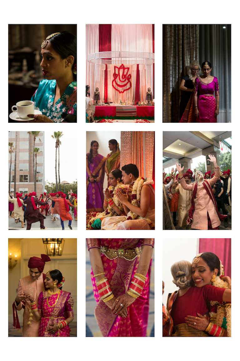South Asian Fairmont Hotel Wedding