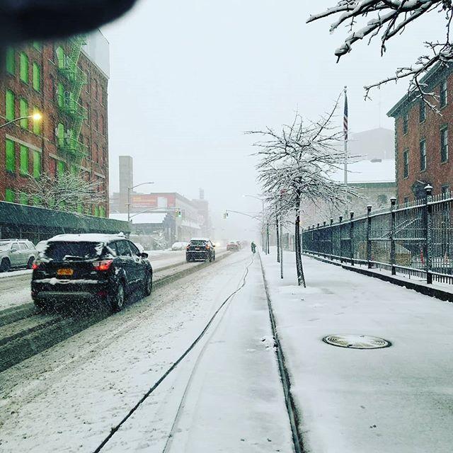 Monday morning comin' down.  Belated April Fools joke. #TenTonStudio #BrooklynNavyYard #BrooklynPhotoStudio