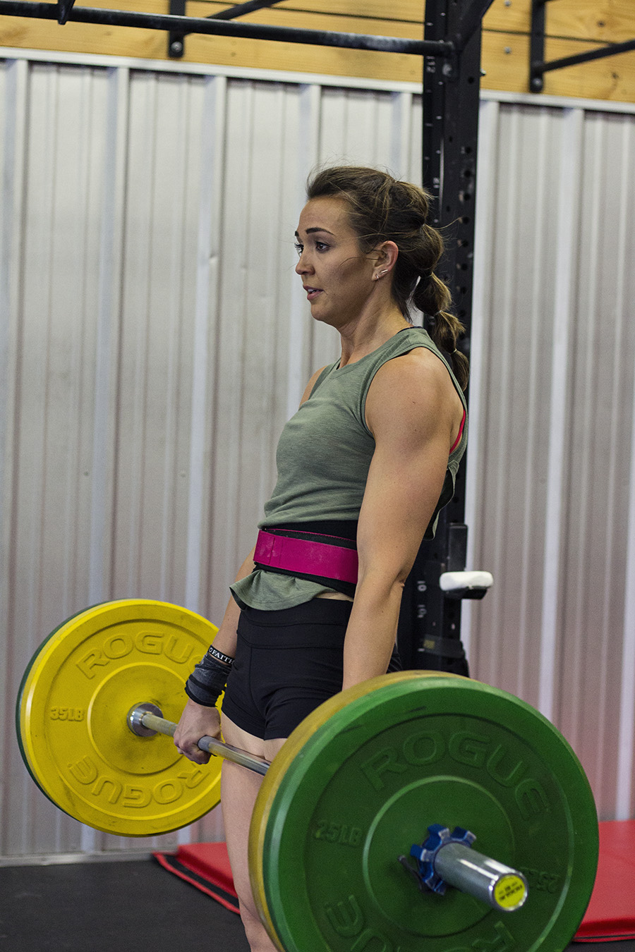 Amanda Evans    Co-Owner: Lead Trainer    CrossFit Level 2: USA-Weightlifting Sports Performance: CrossFit Rowing: CrossFit Mobility: NCI-Level 1 Nutritional Coach: BA Exercise Science