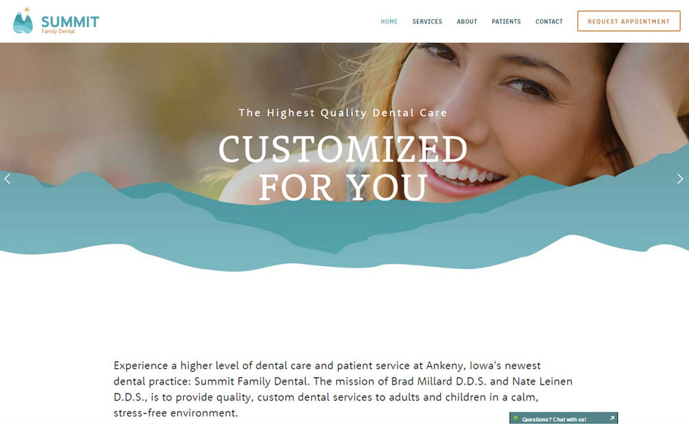 Summit Family Dental  Go to site