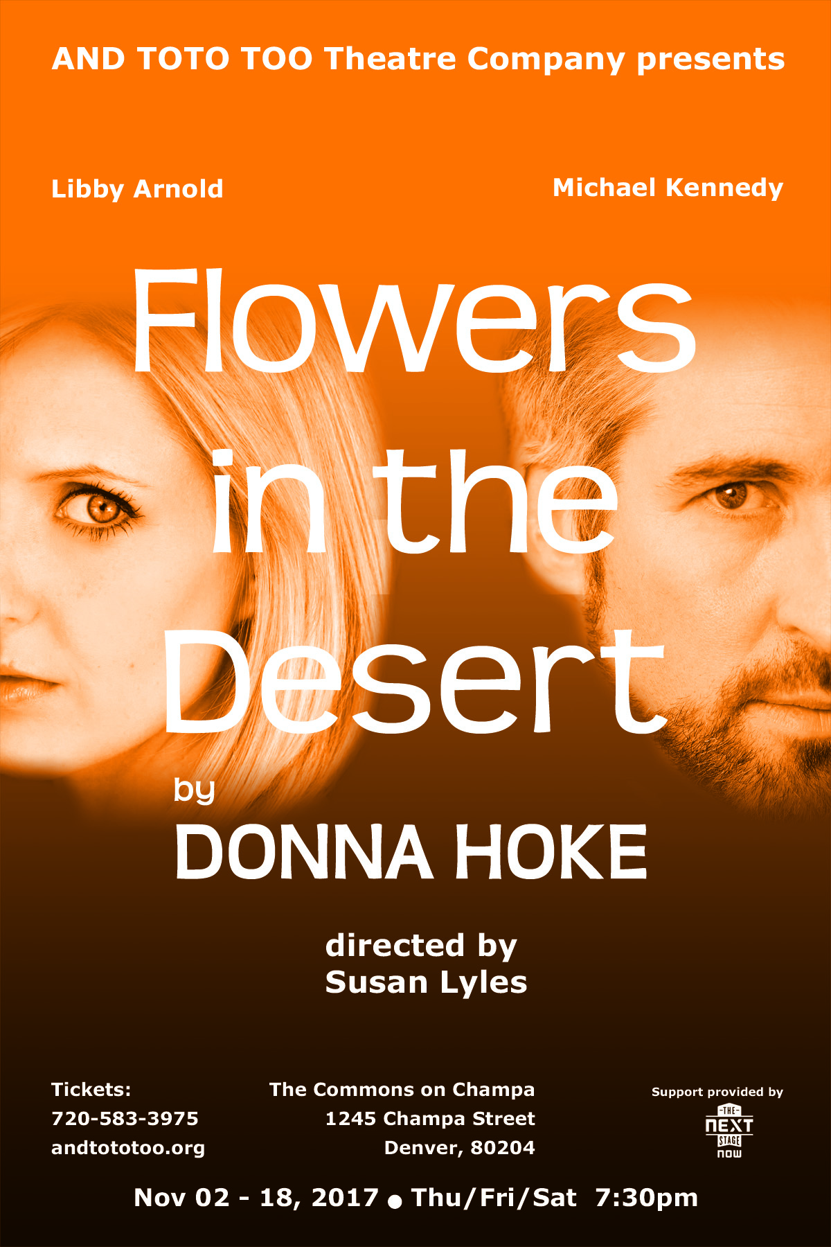 Flowers in the Desert — And Toto too Theatre Company