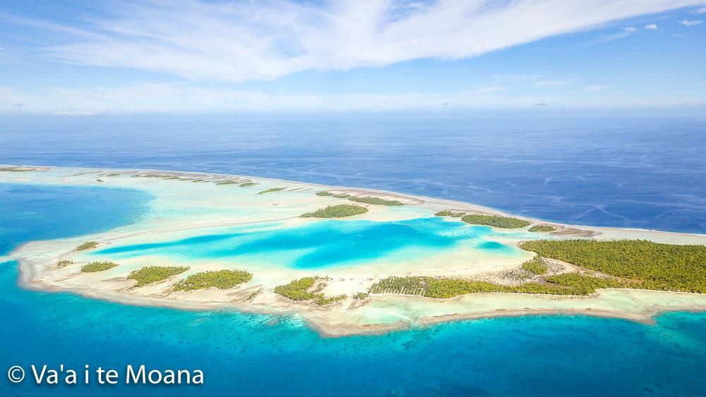 Blue lagoon drone