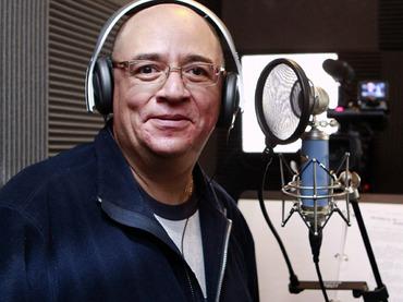 Ruben Trujillo, la voz de Aladdin, entre otros personajes.