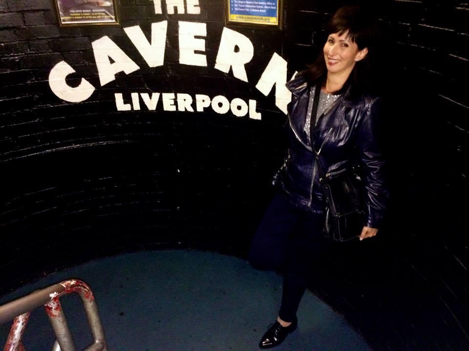 En Septiembre de 2014, cuando fuimos a Liverpool y visitamos al mítico Cavern Club, donde The Beatles comenzaban a ser leyenda.
