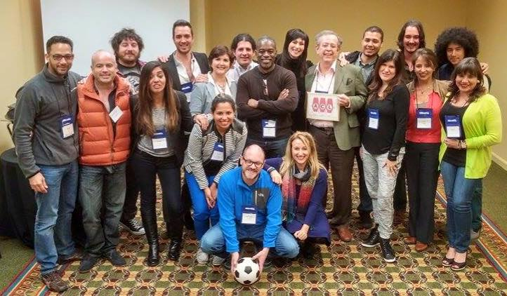 11 países resumidos en esta foto, tomada al cierre de nuestro Programa Hispano el pasado mes de Marzo en VO Atlanta 2015
