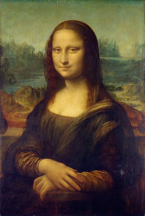 La Gioconda, de Leonardo Da Vinci.