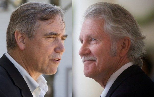 Senator Jeff Merkley and embattled Governor John Kitzhaber are still on track to win re-election over GOP challengers.