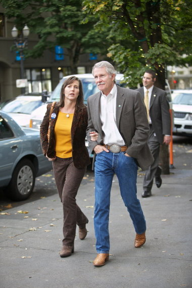 Governor Kitzhaber and First Lady Cylvia Hayes woke up this week reading a Willamette Week article accusing Hayes of conflict of interest, which the governor denies.