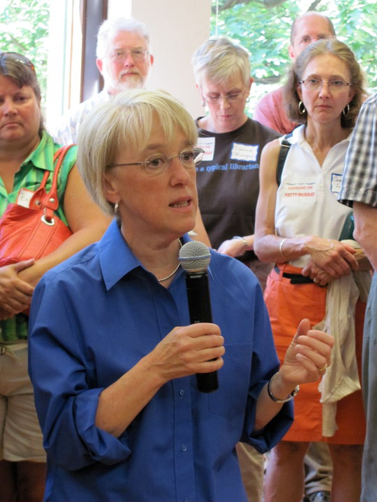 Senator Patty Murray is just one of many NW congressional delegates growing in influence on the national political scene.