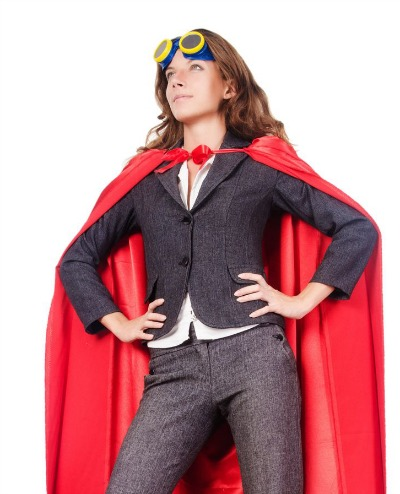 Power Posing can help you feel like a superhero.