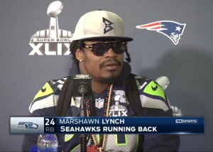 If you perform at press conferences like Seattle's Marshawn Lynch, don't expect to enhance your reputation or build rapport with the media.