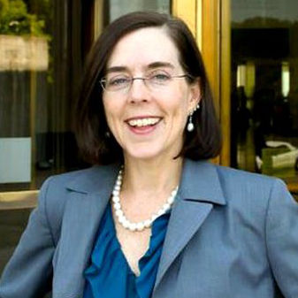Kate Brown assumed the governorship in Oregon, but her swearing in was hardly more than a coffee break in a legislative session off to a very fast start.