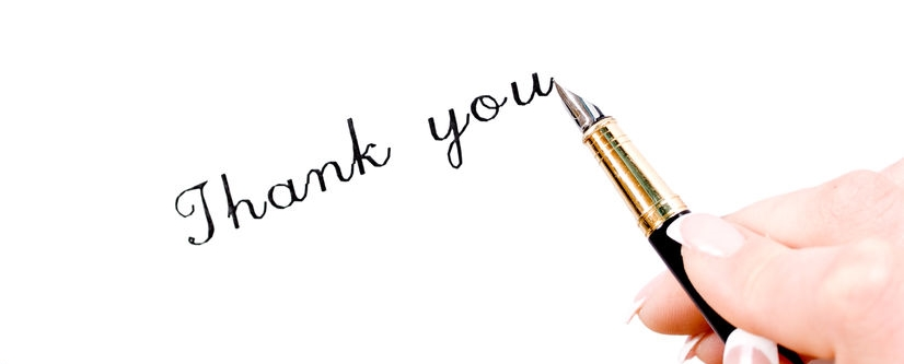 How to make your thank you stand out