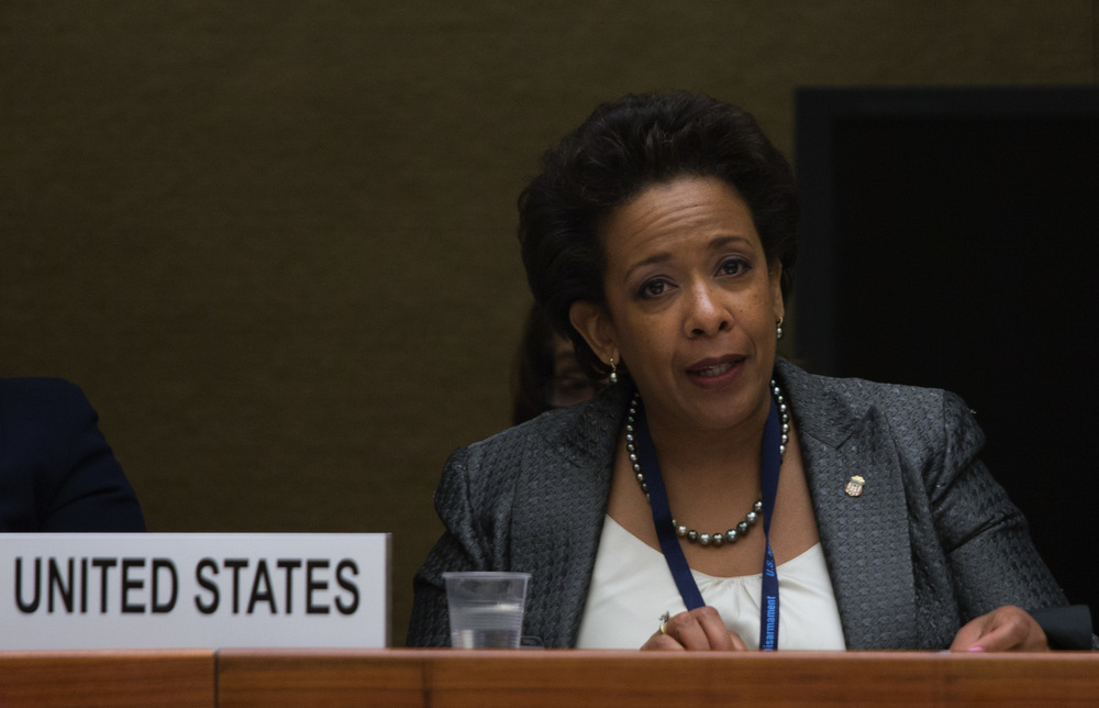 Loretta Lynch will become the first African-American women to be the U.S. attorney general, but only after setting a contemporary record for her delayed confirmation, which has stalled because of politics. Photo by United States Mission Geneva.
