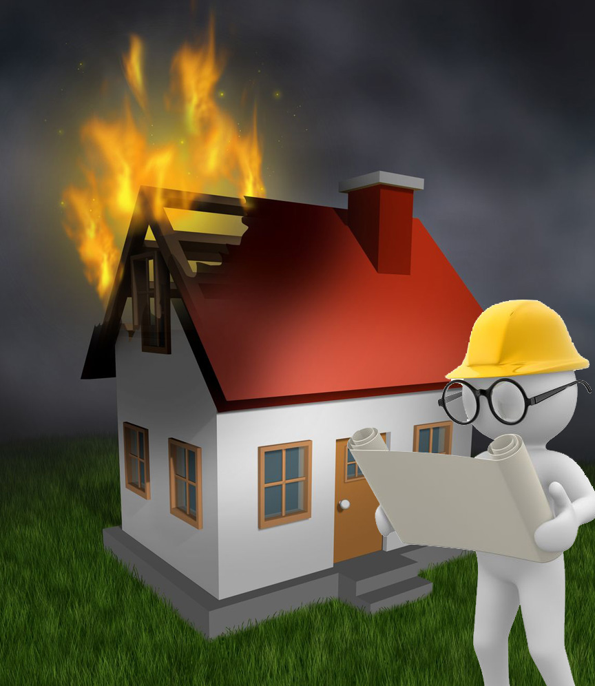 Looking forward while dealing with a crisis is like showing how you're going to rebuild the house that is burning down in a fire behind you.