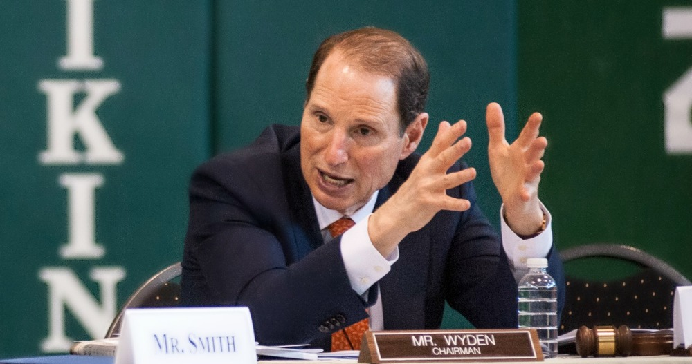 Oregon voters will have lots to ponder next year, including a potential primary challenge from the left to Oregon Senator Ron Wyden. Photo by Ron Wyden Flickr Account.