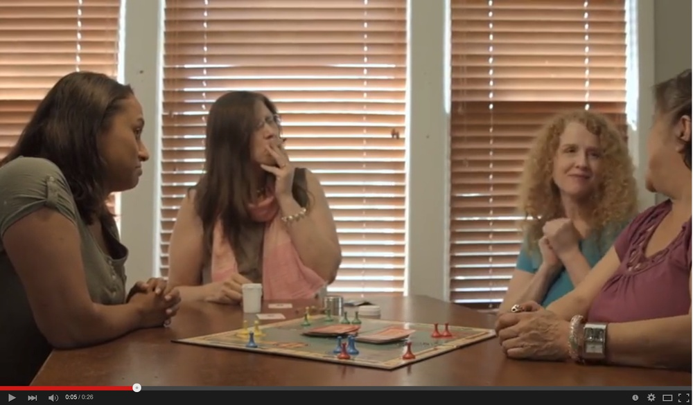 Portland women smoking pot while playing Monopoly is just one of 21 B-Roll videos that an advocacy group shot to change the visual image of recreational marijuana use in Oregon.
