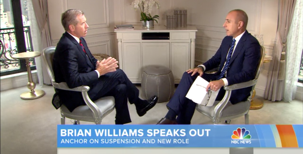 Former TV news anchor Brian Williams tripped over his own mea culpa, proving that good intentions and sincere regrets aren't the same as a truly effective apology.