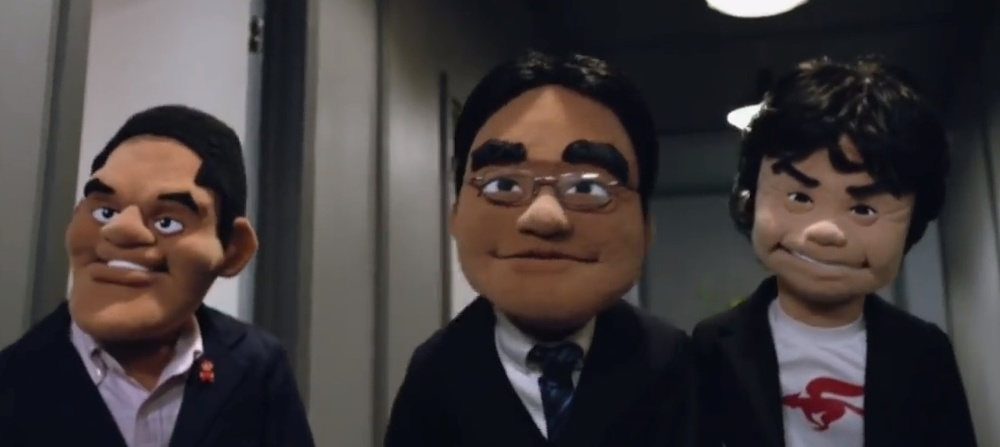 Nintendo company leadership (pictured here in puppet form) made the mistake of talking at their customers rather than with them during the recent Electronic Entertainment Expo.
