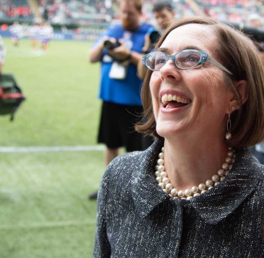Governor Kate Brown is a self-described people person and a stark contrast to her predecessor, John Kitzhaber.