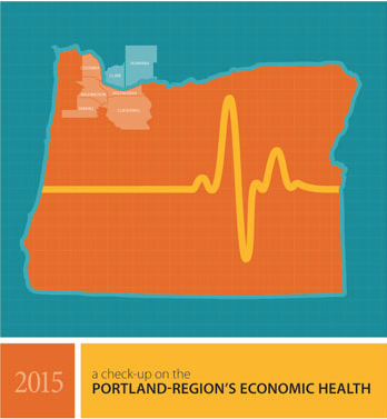 The Portland region's economy continues to grow jobs, but full-time jobs and per capita income continue to lag other comparable metro areas.