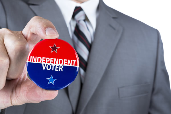 The surge in 2016 presidential primary voting can be attributed to campaigning that has activated political independent voters. It is very likely the next president will be elected because he or she wins the most independent votes.