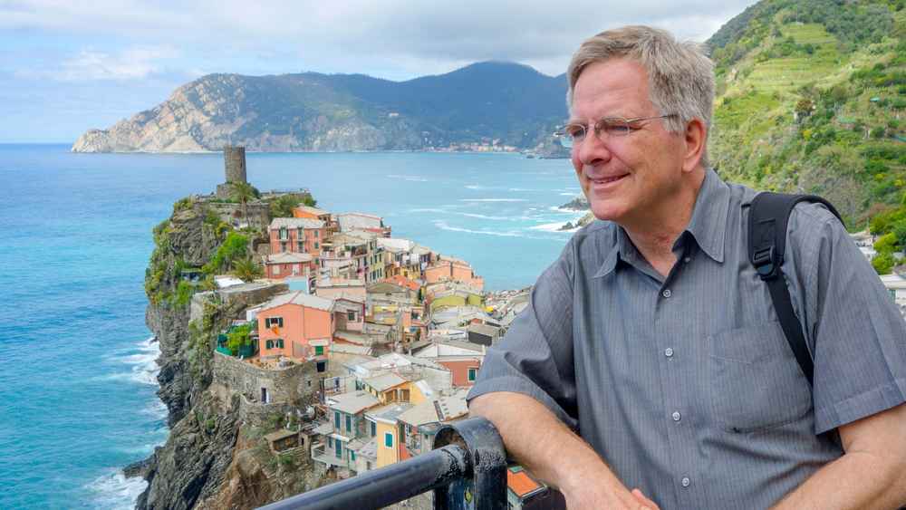 Travel guide Rick Steves provides excellent direction on how to express a value proposition and back it up with authentic personal branding.