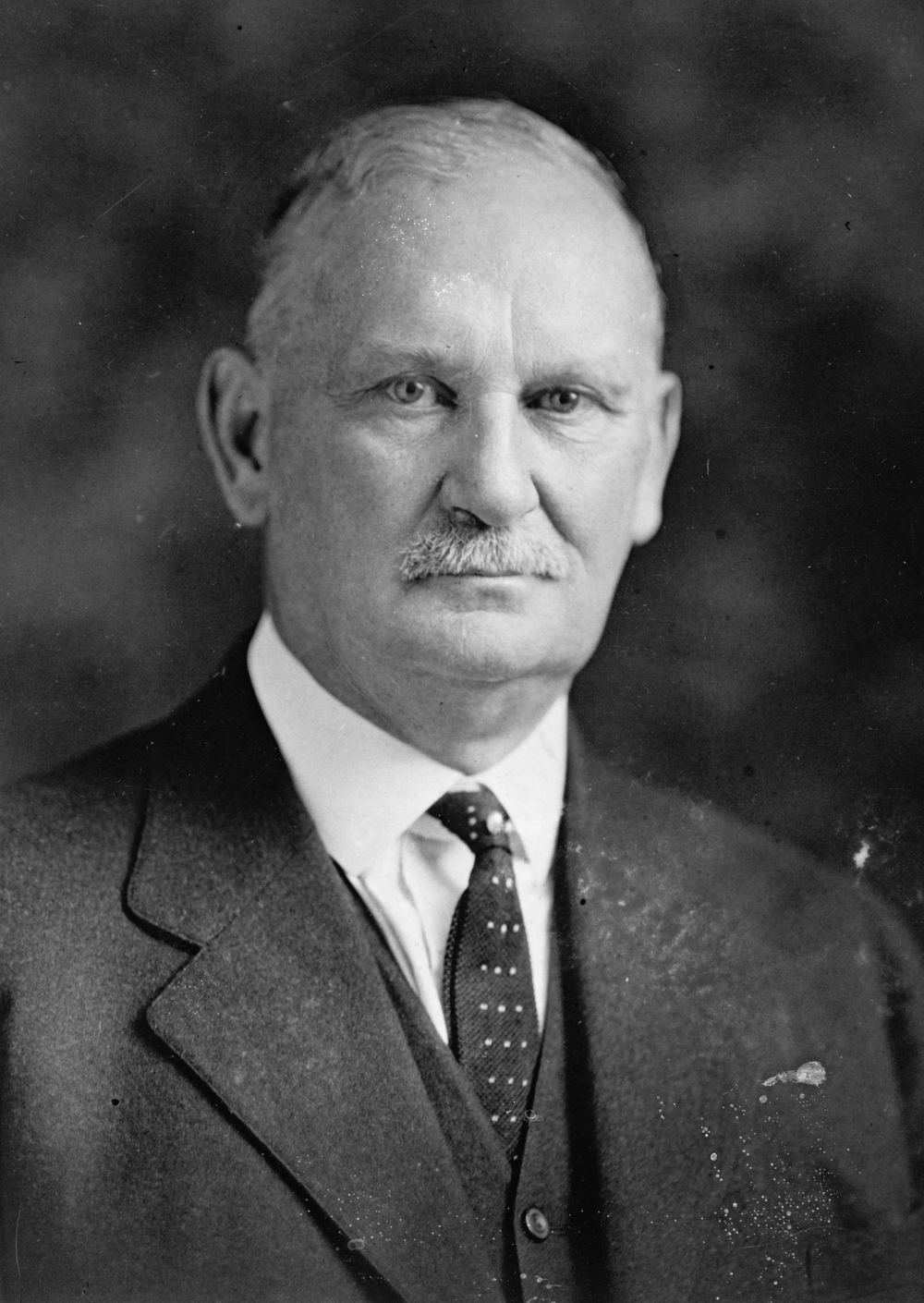 Former Oregon Congressman Willis Hawley lost his bid for re-election in 1932 after the bill he passed quadrupling U.S. trade tariffs deepened the Great Depression.