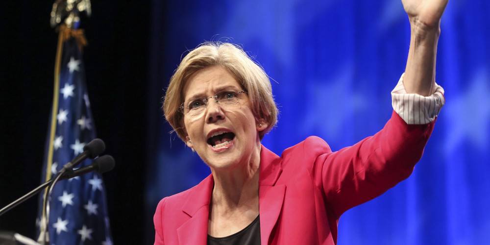 Elizabeth Warren says competition is dying a slow death in the American marketplace, hurting consumers, small businesses, innovation and workers.