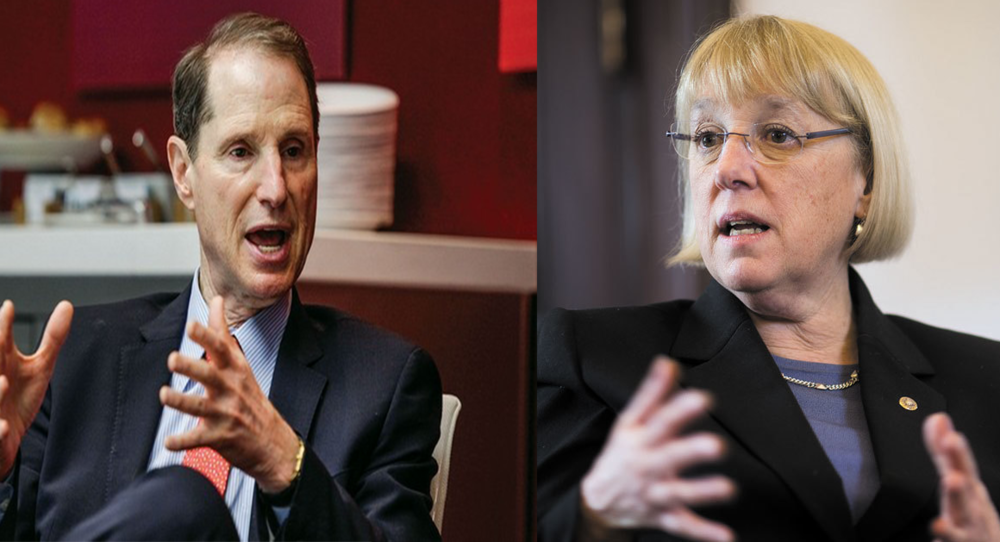 Oregon Senator Ron Wyden and Washington Senator Patty Murray are positioned to gain major committee chairmanships if Democrats succeed November 8 in regaining control of the US Senate.