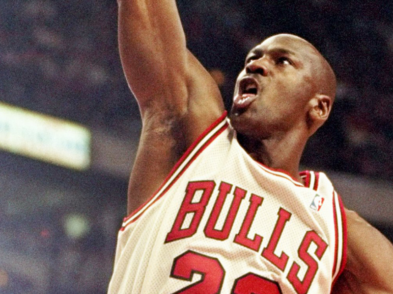 Michael Jordan had talent, but didn't become arguably the best basketball player without hours of hard work, deliberately practicing the skills that made him great.
