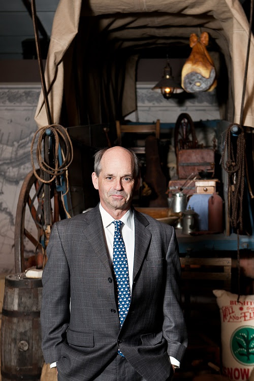 Kerry Tymchuk is more than the usual history buff because he believes artifacts are something people need to hold and experience to understand that history is alive, not dead. Photo Credit: Andrea Lorimor