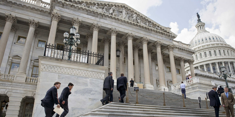 Congress returns next week from its Easter break and will face an April 29 deadline to extend federal discretionary budget authority and avert a federal government shutdown, which could occur coincidentally on the 100th day of the Trump presidency. Photo Credit: AP