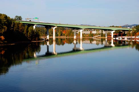 Under the just unveiled $8 billion transportation funding proposal, tolling would be allowed to pick up the local share of the cost of congestion relief and seismic retrofits of critical bridges such as the Abernethy Bridge in Clackamas County.