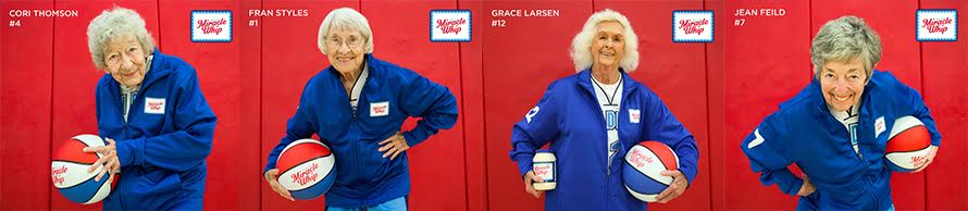San Diego Splash team members have their own cards sporting basketballs bearing the Miracle Whip logo.
