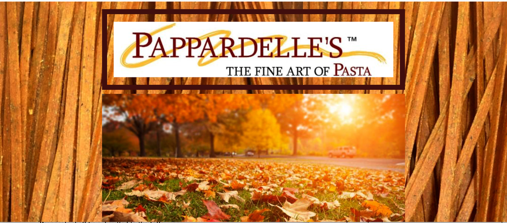 Pappardelle's pasta shop in Seattle tempts taste buds with recipes and visually appealing pictures of orzo and other fall dishes.