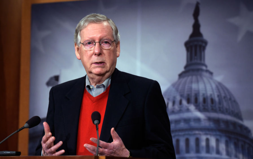 Senate Majority Leader Mitch McConnell said 2018 should be a year of bipartisan compromise, but that may be easier said than done after the GOP-controlled Congress shoved through a massive tax cut at the end of 2017 and ideological differences in the House threaten to blunt deals with Senate Democrats. [Photo Credit: AP/Susan Walsh]