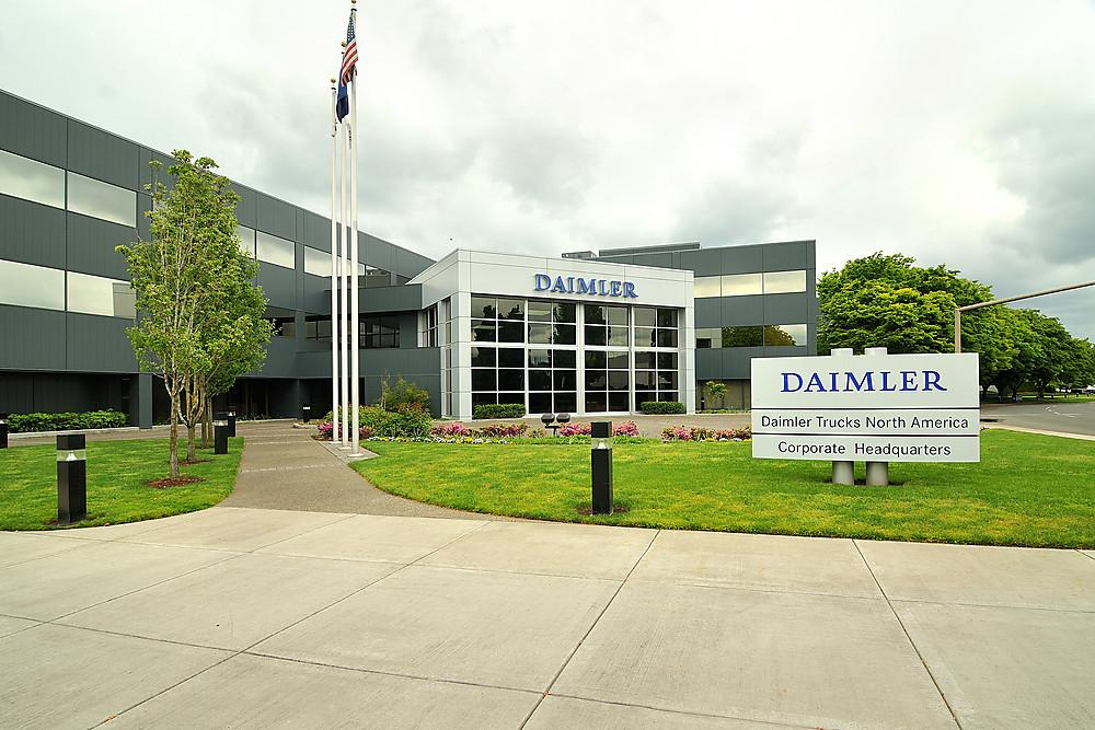 President Trump has singled out German car manufacturer Mercedes-Benz, which is a sister company to Daimler Trucks that manufactures and designs commercial vehicles at its North American Headquarters in Portland